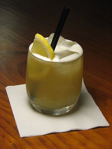 My go-to drink: Whiskey Sour | Ingredients: 1½ oz Whiskey (Johnnie Walker Red Label is a good choice) ½ oz lemon juice ½ tsp powdered sugar 1 maraschino cherry, How to prepare it: Fill a tumbler with ice and add whiskey, lemon juice and sugar. Garnish with a maraschino cherry