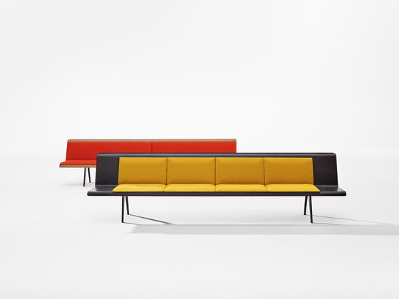Zinta Waiting by Arper | Waiting area benches