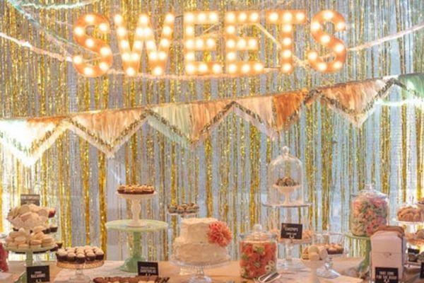 6 Alternative Wedding Receptions That'll Wow Your Guests #refinery29  http://www.refinery29.com/wedding-reception-ideas#slide-4  Cake