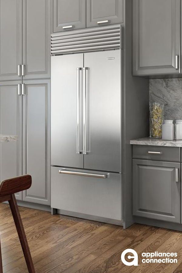 Built In French Door Refrigerator From Sub Zero Will Be The Best Addition To Your Kitchen The Discreet Built In Refrigerator Kitchen Design Kitchen Appliances