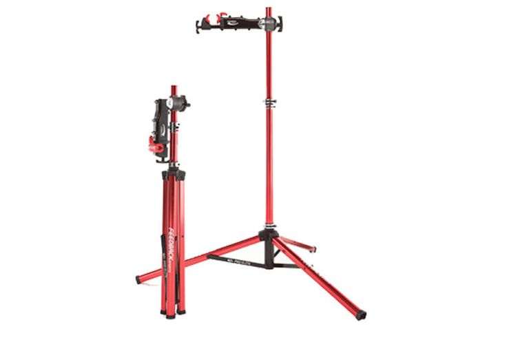Feedback Sports Pro-Elite Work Stand http://www.bicycling.com/repair/maintenance/the-best-bike-work-stands-for-every-budget/feedback-sports-stand
