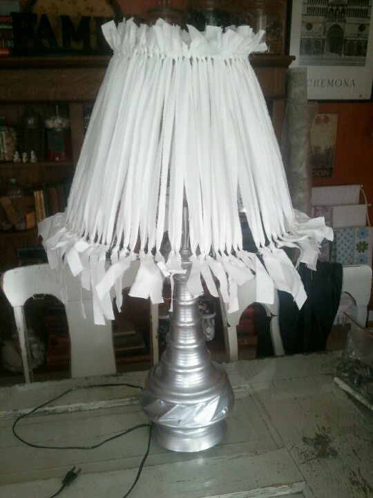 Upcycle lamp!