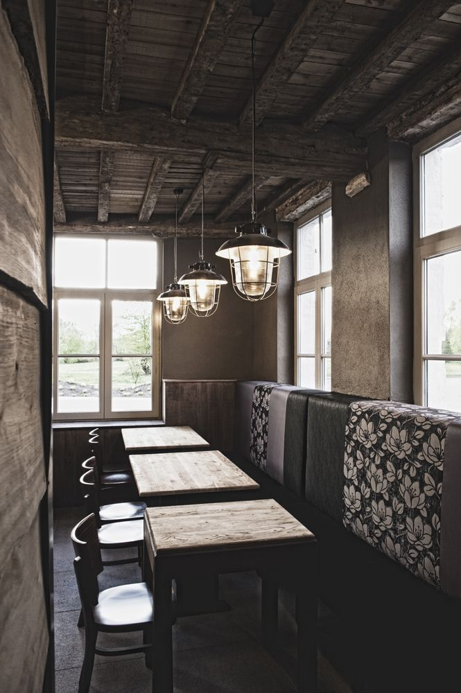 17 Best images about Projects by WoonTheater on Pinterest   Solid oak, Leather chairs and Restaurant