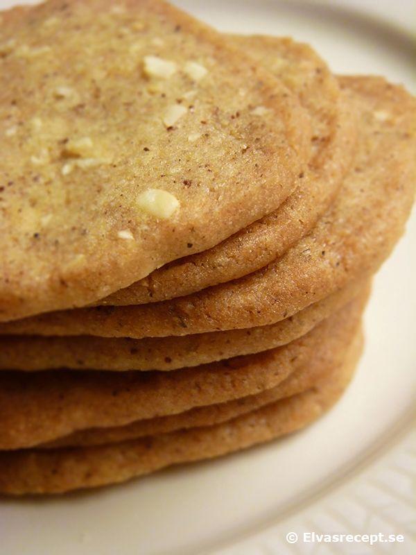 Skurna Pepparkakor - Enkla Julkakor. French gingerbread.
