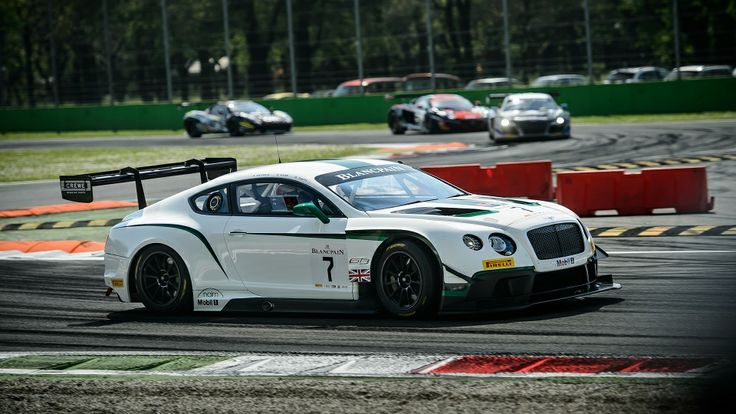 Team M Sport Bentley Continental GT3 On The Track At Monza 2014