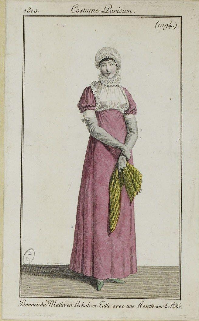 Costume Parisien (1094), 1810.