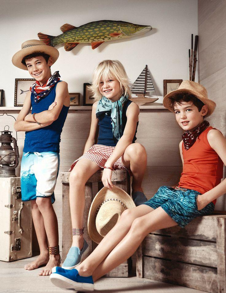 Des tenues d'été, légères et colorées, pour les enfants #kids #fashion