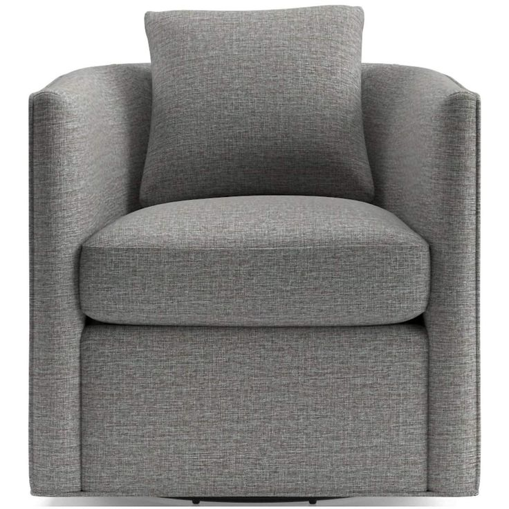 Drew small swivel chair crate and barrel small swivel