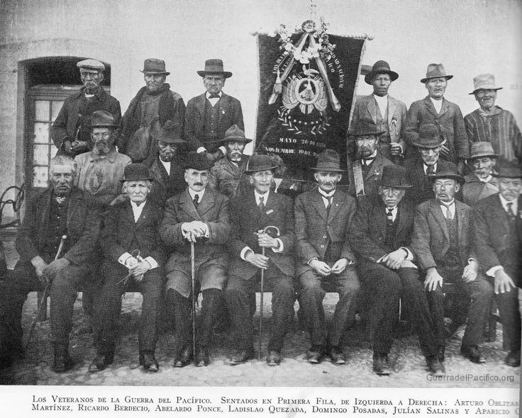Veteranos de la Guerra del Pacifico
