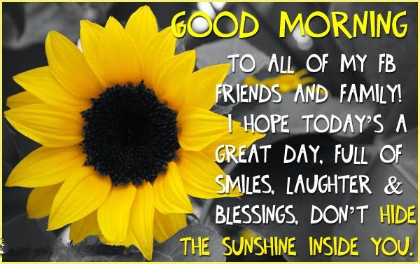 sunday good moring pictures for face book with quotes