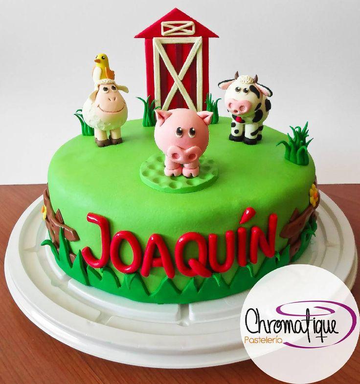 Farm cake (Torta de la granja) https://www.facebook.com/ChromatiquePasteleria