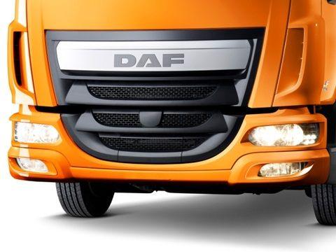 DAF LF Euro 6 steel bumper