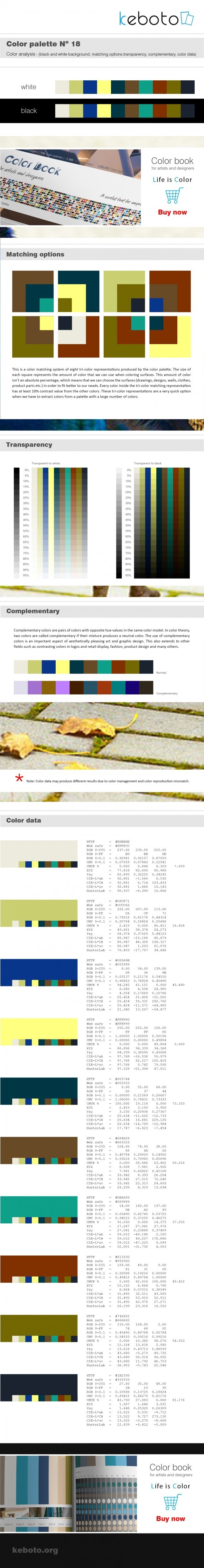 Keboto - Color Palette No18
