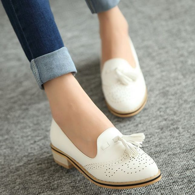Free shipping 2014 comfortable low-heeled fashion vintage Oxfords shoes gentlewomen pointed toe shoes for women 34-43 Clothing, Shoes & Jewelry - Women - nike women's shoes - http://amzn.to/2kkN5IR