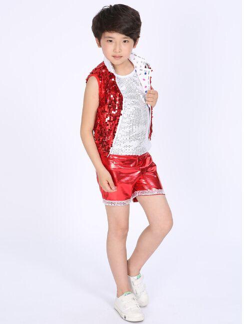 Trajes de danse jazz A 080 rojo, niños azules de etapa jazz danza traje de lentejuelas trajes de baile de jazz para niños en Latino de Novedad y de uso especial en AliExpress.com   Alibaba Group