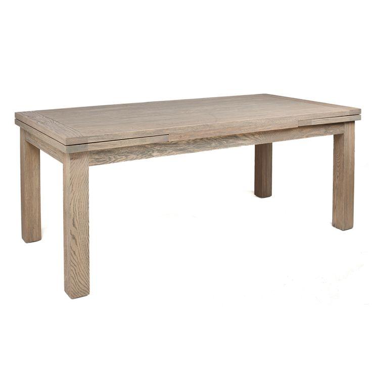 Fantastisk flott spisebord i fiber cement og teak. lengde 220 cm ...