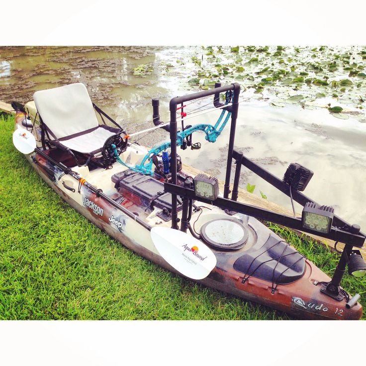 Diy kayak for bowfishing