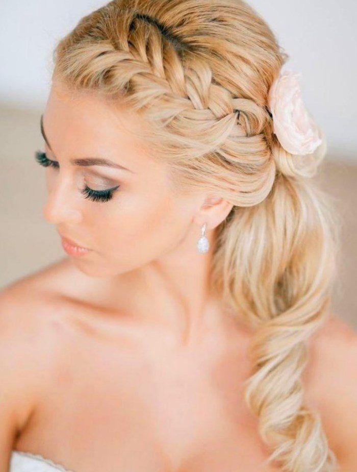 Picture result for bride hairstyles Long hair half-open With veil – #bildgebnis #brautfrisuren # for #haare # halboffen