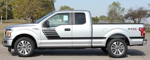 Ford F 150 Side Vinyl Graphics Decals Speedway 2015 2018 2019 Ford F150 F150 Ford
