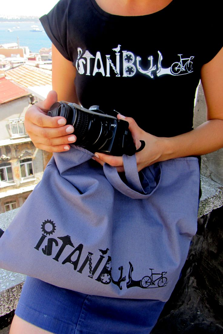 "Best design products of the city | Unique design ""Istanbul"" t-shirts for $34,90 