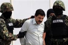 "Drug Lord El Chapo's Network Of Secret Tunnels As Mexican and US officials discuss extradition options for captured drug lord Joaquin ""El Chapo"" Guzman, journalists have been allowed into the underground tunnels he initially used to evade authorities."