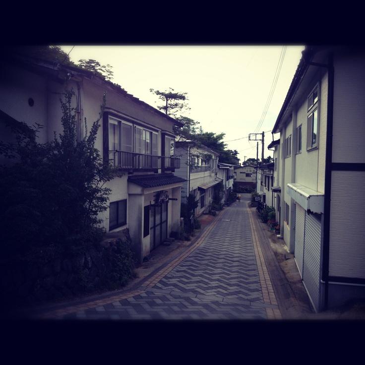 那須湯本温泉 鹿の湯前民宿街 昭和の風情ここにあり。