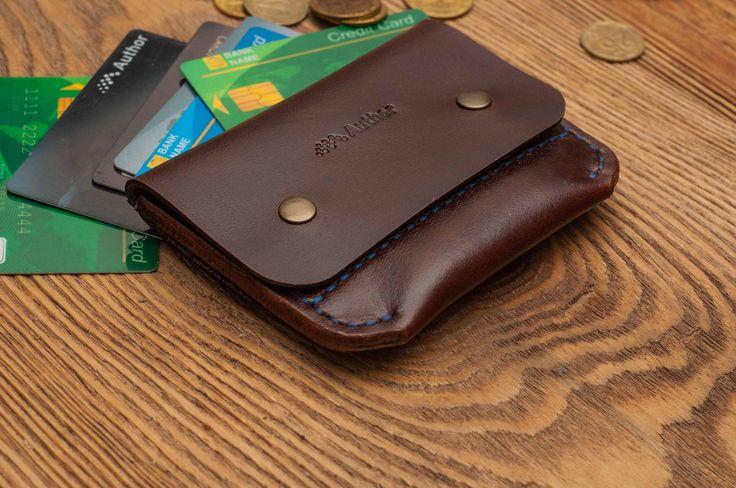 Slim wallet minimalist wallet leather wallet mens wallet wallet personalized wallet card wallet thin wallet credit card wallet card wallet by MenAccessoryStudio on Etsy