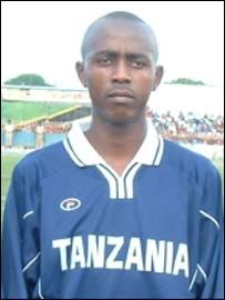 Tanzania under-17 player Nurdin Bakari
