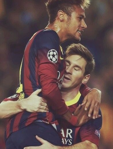 Neymar and Messi sexy