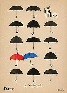 pixar.: Movies, Monsters Univ, Graphics Design, Pixar Shorts, Shorts Film, Disney, Film Poster, Theblueumbrella, The Blue Umbrellas