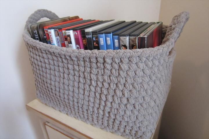 46 Free & Amazing Crochet Baskets For Storage   DIY to Make