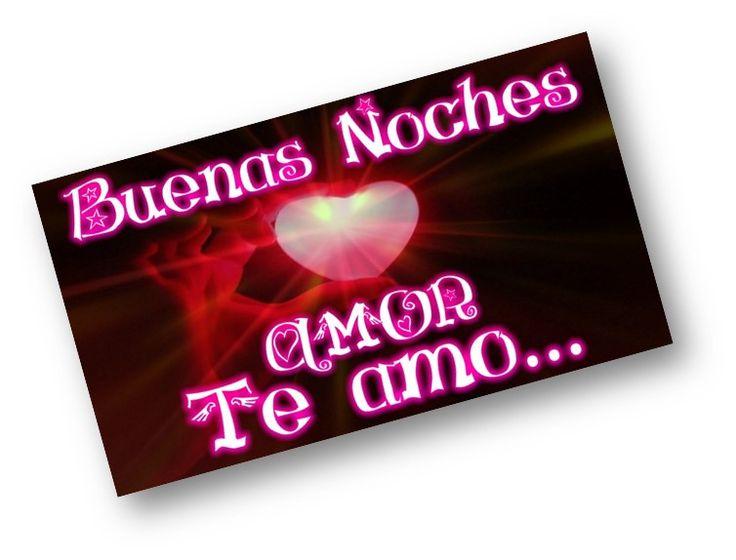 buenas noches amor mi corazon