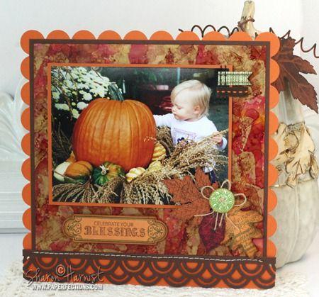 AutumnAlyssa2003-SHChic Autumn, Autumn Tags, Antiques Autumn, Autumn Leaves, Shabby Chic, Scrapbook Autumn, Justrite Stamps, Scrapbook Pages, Autumn Scrapbook