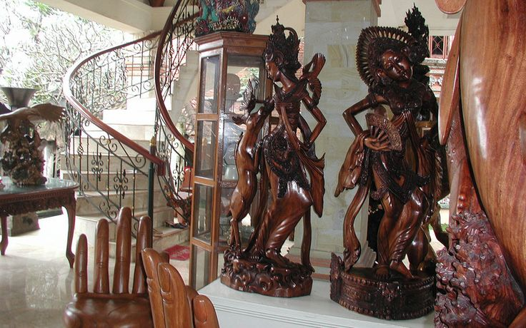 Ubud Wood Carving