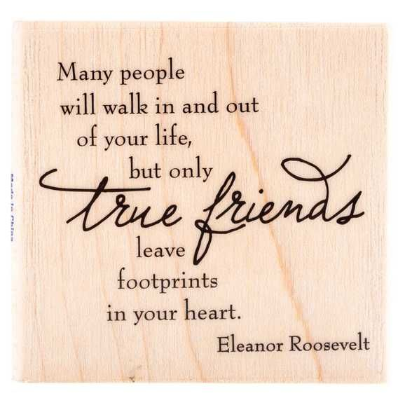 Get True Friends Rubber Stamp online or find other Rubber Stamps products from HobbyLobby.com