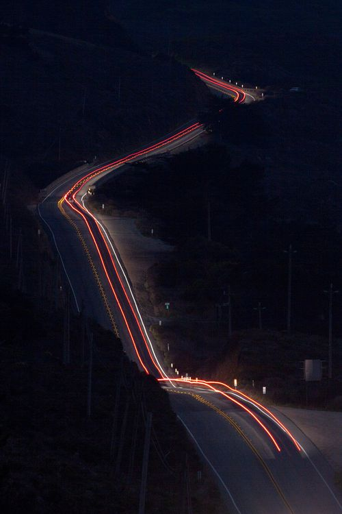 road time lapse