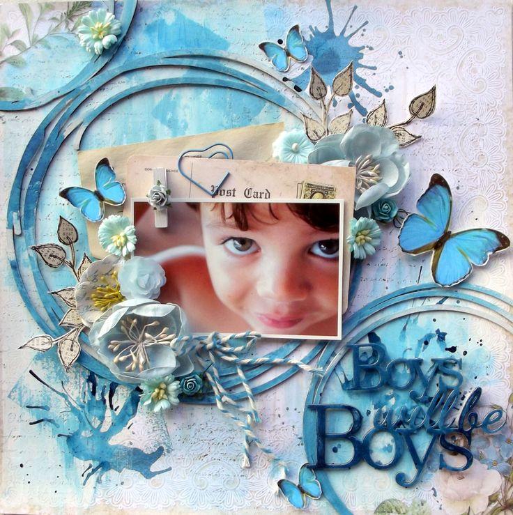**Blue Fern Studios** Boys will be boys - Scrapbook.com