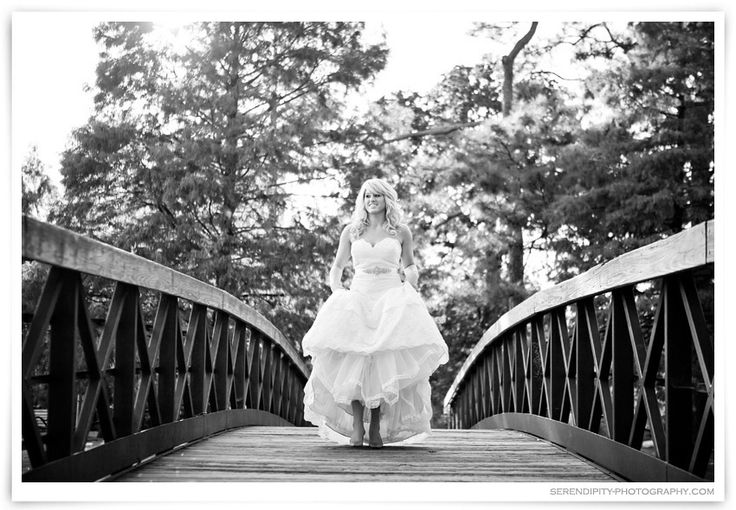 Outdoor Bridal Portraits at Hermann Park – Kendall