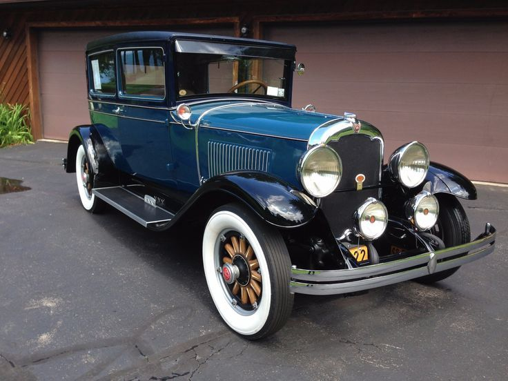Restored 1929 REO Flying Cloud Model-C Brougham – #Brougham #Cloud #Flying #Mode… – Car Center