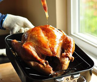 Cooking 101:  How to bake a turkey.  #Thanksgiving