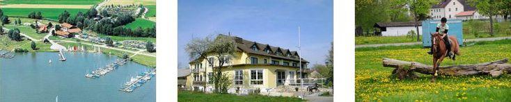 Bayern: Frankenl, 91710 Gunzenhausen-Wald: Das Fränkische Seenland: für Aktive, Radler, Reiter, Wassersport, Geschichtsinteressierte,…