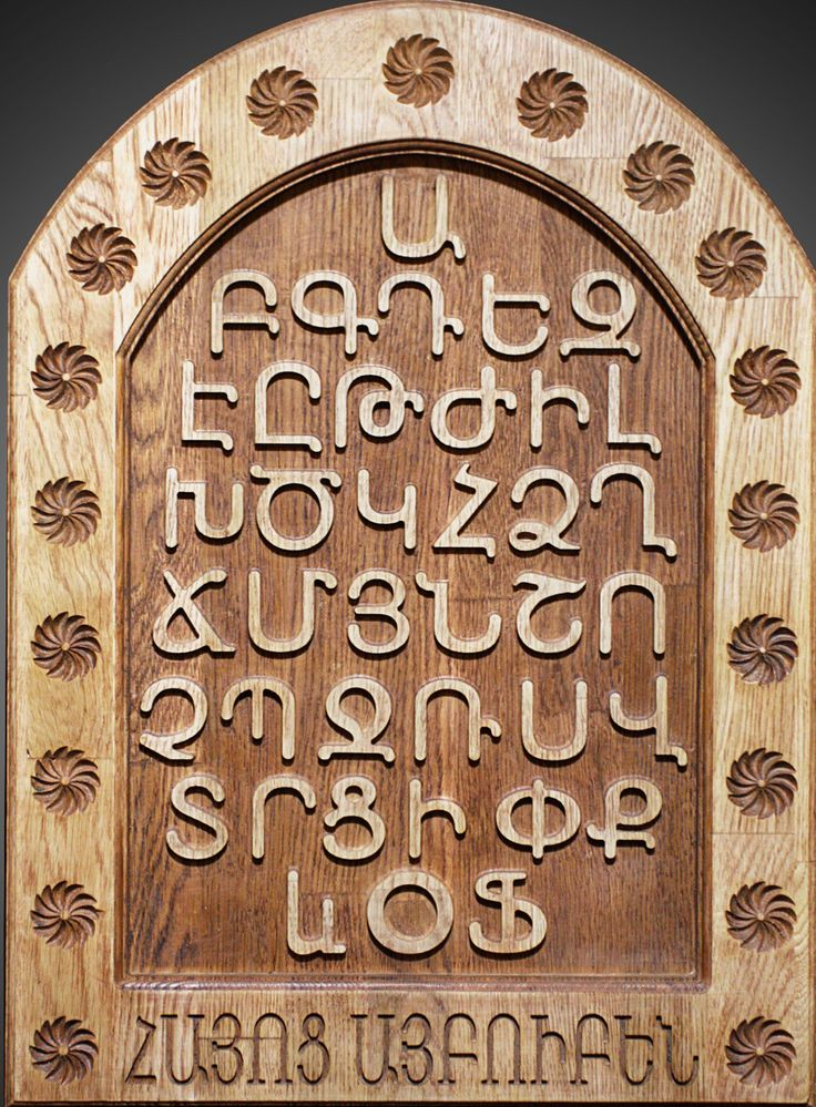 Influence of the Armenian alphabet in Armenian Culture | Tourism ...