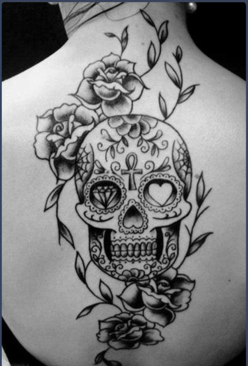 Tattoo  Tumblr Skulls Ideas Skull Tattoos