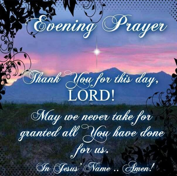 Night Time Prayer Quotes: 10 Best Evening Prayers ♡ Images On Pinterest