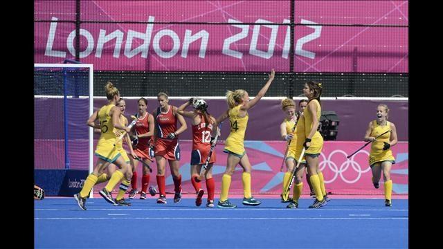 Field hockey Australia VS. the US