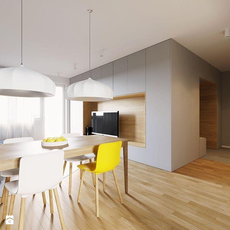 Mieszkanie PW - Salon, styl nowoczesny - zdjęcie od 081architekci