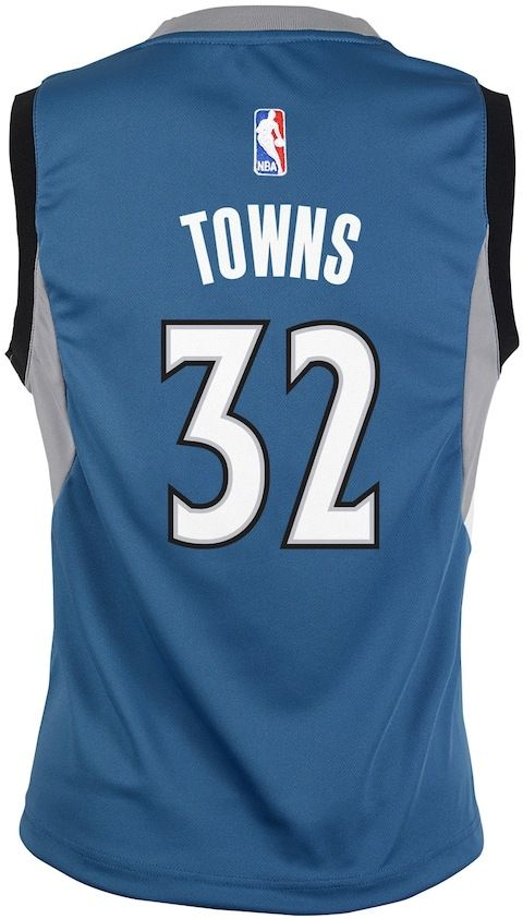 c20306570cb2 ... Zach LaVine Merchandise Authentic Collectibles NBA Boys 8-20 Minnesota  Timberwolves Karl-Anthony Towns Replica Road Jersey ...