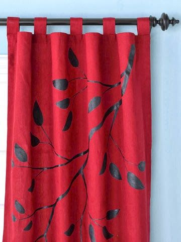 pintar cortinas