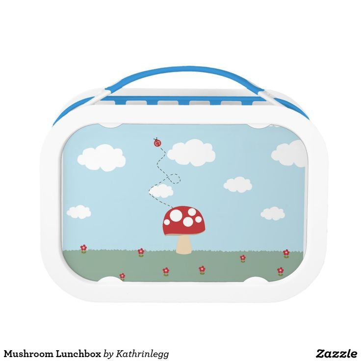 Mushroom Lunchbox by Kathrin Legg