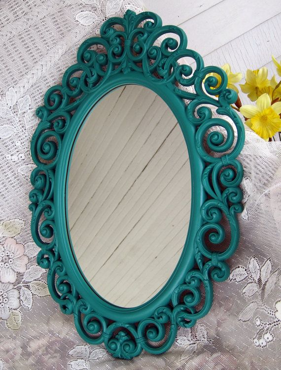 Turquoise Wall Mirror best 25+ teal wall mirrors ideas only on pinterest | teal bedrooms
